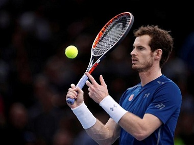 New World No 1 Andy Murray. Reuters