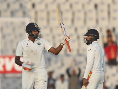Ravichandran Ashwin, Ravindra Jadeja stitched together an important partnership to get India out of trouble on Day 2. AP