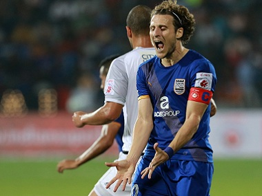 Diego Forlan has been poor in recent times and maybe it might be time to bench the striker. ISL