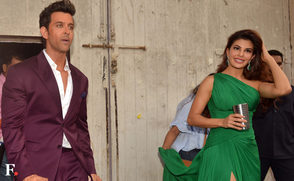 """Mehboob Studios was the scene of several celebrity spottings over the week ending 19 November. Among the stars we saw at Mehboob over the week were Hrithik Roshan and Jacqueline Fernandez. Hrithik and Jacqueline have teamed up for an ad film that's been described as """"racy"""". Image by Sachin Gokhale/Firstpost"""