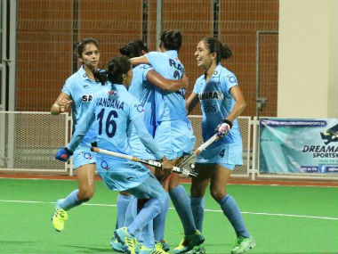 File photo of the India women's hockey team. Image courtesy: Hockey India via Facebook