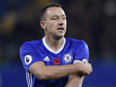 File photo of Chelsea's John Terry. Reuters