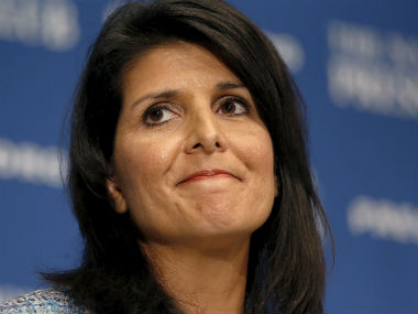South Carolina Governor Nikki Randhwa. Reuters
