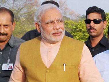 A file photo of PM Modi. PTI