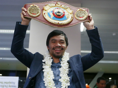 File image of Manny Pacquiao. AP