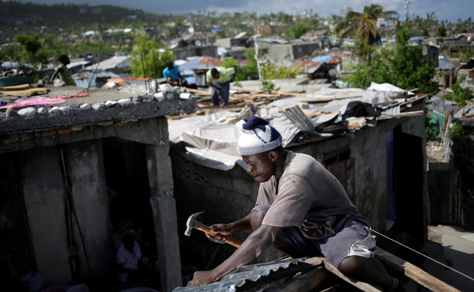 It's been nearly a month since Hurricane Matthew tore through southern Haiti and the affected people still have to spend their meagre savings to buy drinking water. Life is slowly getting back to normal. Reuters