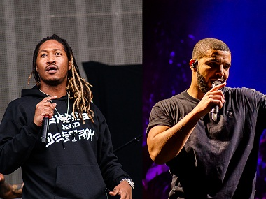 Future and Drake. Image courtesy: Creative Commons