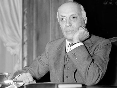 File image of Jawaharlal Nehru. AFP