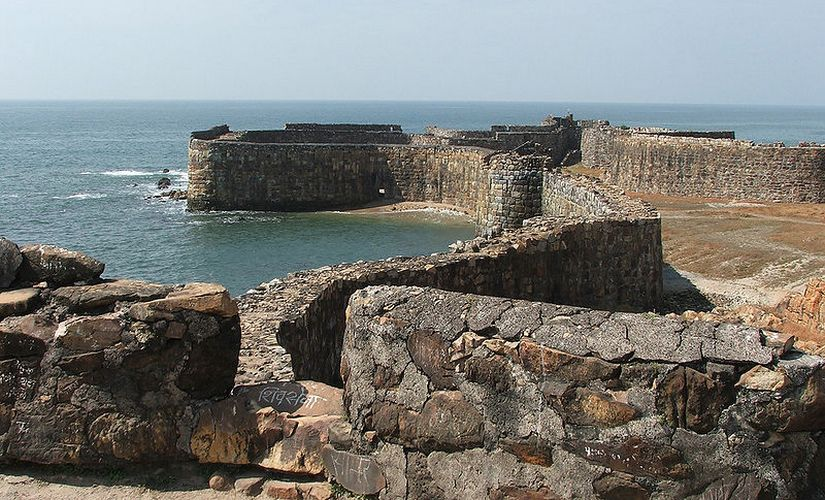 Sindhudurg fort. Wikimedia Commons