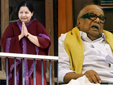 File image of Jayalalithaa and Karunanidhi. Reuters