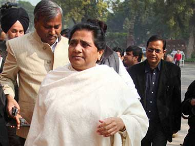 File photo of BSP chief Mayawati. PTI
