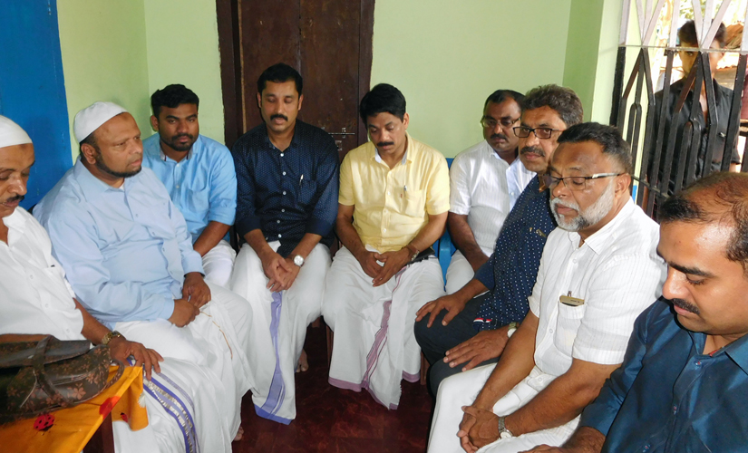 People visited Faisal's house to offer condolences and financial support to the bereaved