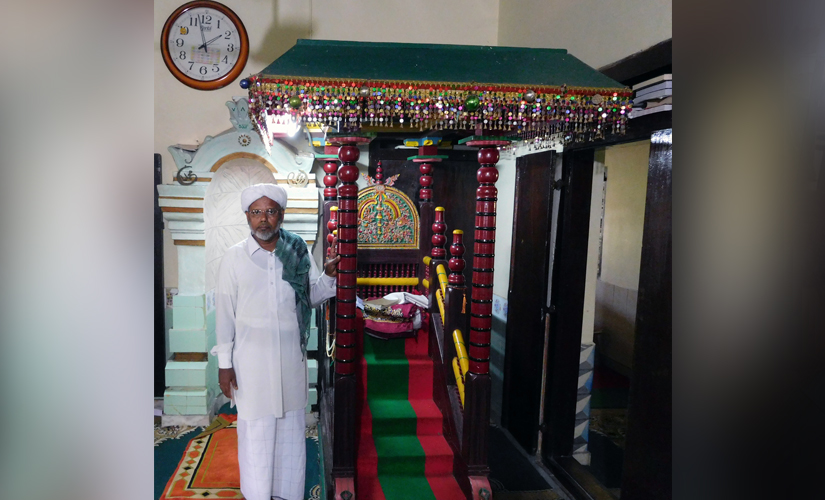The Imam who announced people to exercise restraitnt after Faisal's murder