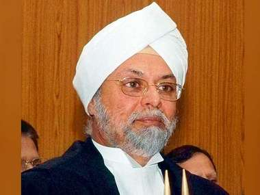 Justice Khehar in a file image. Twitter/ @airnewsalerts
