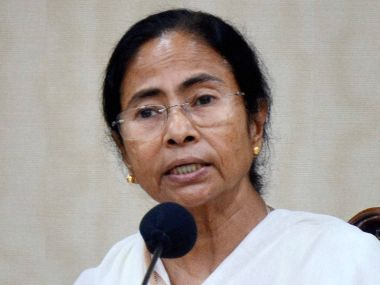 File photo of Bengal Chief Minister Mamata Banerjee. PTI