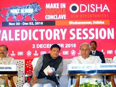 The Bhubaneswar conclave of Make in Odisha garnered Rs 2.03 lakh crore in investment proposals spread across 10 sectors. Firstpost/Kasturi Ray