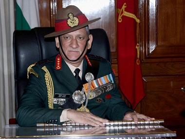 Chief of Army Staff General Bipin Rawat. PTI