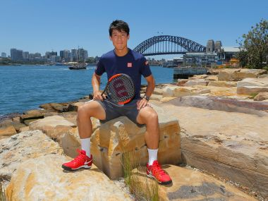 Kei Nishikori withdraws from Sydney exhibition to rest hip injury ahead of Australian Open