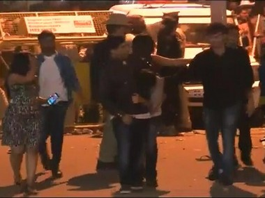 New Year's eve celebration in Bengaluru turned into a nightmare for women. Image courtesy: CNN-News18