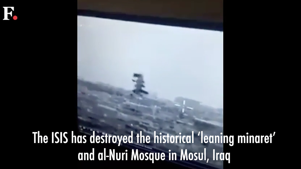 Shock and anger in Mosul after Islamic State destroys historic mosque| Reuters