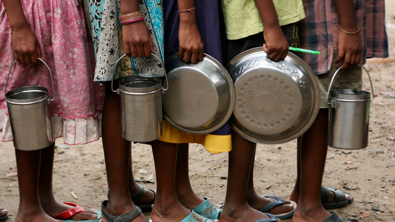 for a majority of India's youngest citizens, this has been the mainstay of their food supply, which should have been critical to sustain at the time of an economic crisis.