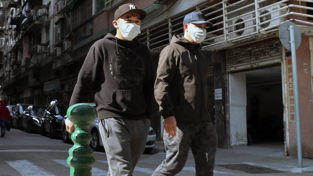 Wearing masks if someone is sick is a common occurrence in many Asian countries.
