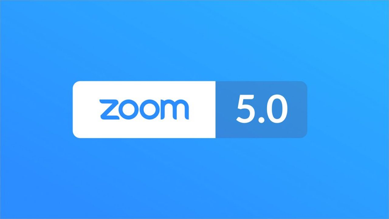 Zoom has updated the app to version 5.0. Image: Zoom blog.