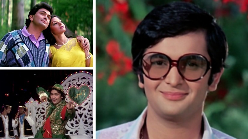 From the oversized goggles in Bobby to the silver jumpsuit of Karz and the infamous sweaters in Chandni — Rishi Kapoor carried his screen costumes with a rare kind of dazzle