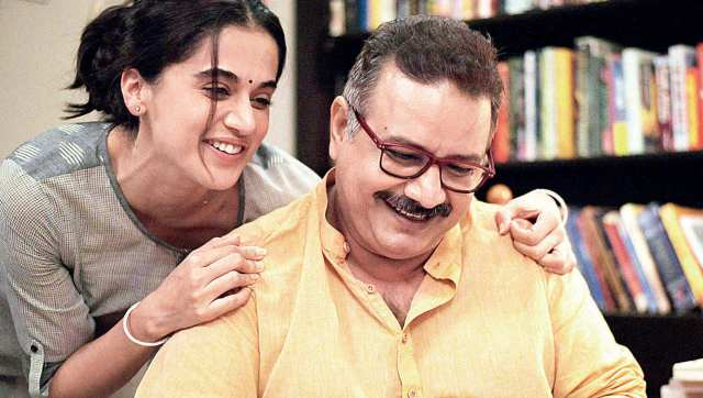 Taapsee Pannu and Kumud Mishra in Thappad | Image from Twitter