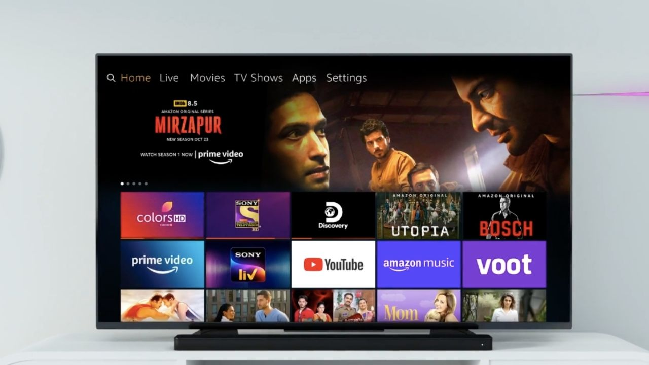 Amazon Fire TV users in India will now be able to watch live programmes.