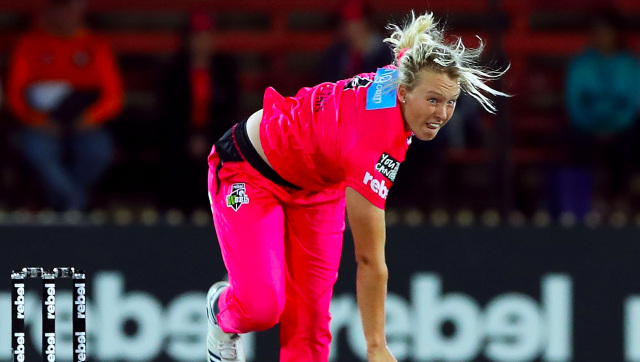 File image of Hayley Silver-Holmes, the player in question. Image credit: Twitter/@SixersWBBL