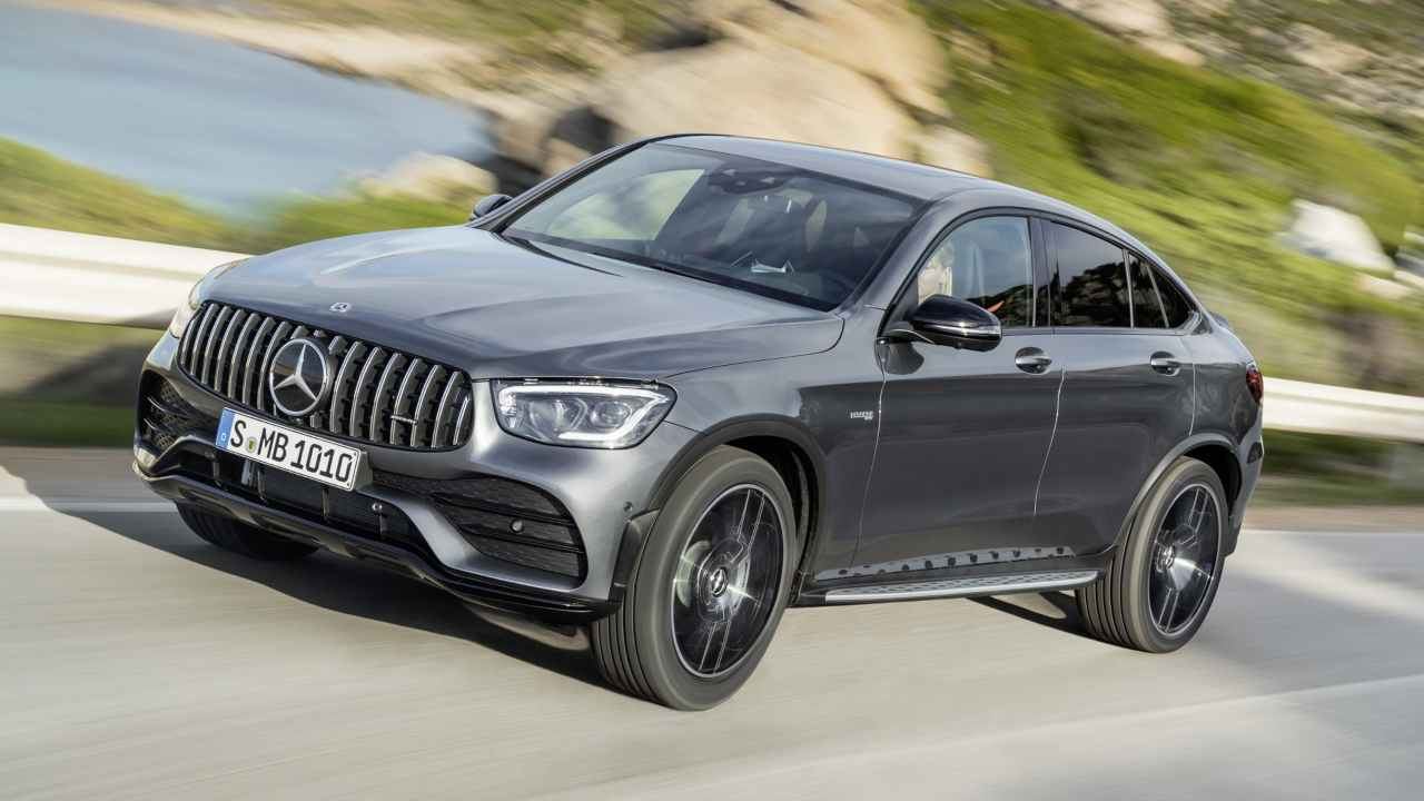The 2020 Mercedes-AMG GLC 43 Coupe. Image: Mercedes