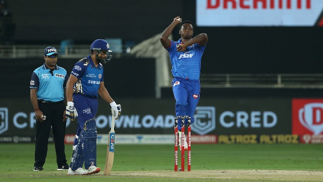 Kagiso Rabada, Delhi's pace spearhead, conceded 32 runs in 3 overs and picked up one wicket. However, he finished the tournament as the Purple Cap winner, with 30 wickets from 17 matches. Rabada's South African teammate Anrich Nortje was the pick of the bowlers as he finished with two wickets. Sportzpics