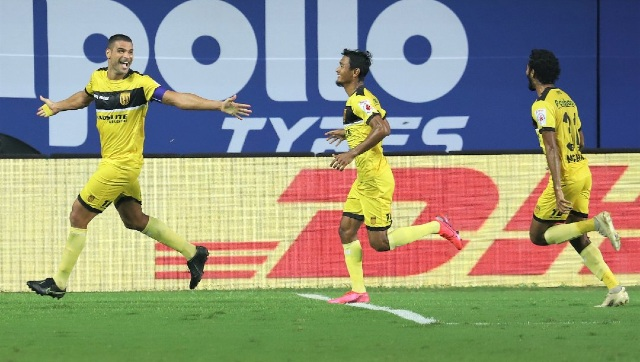 Hyderabad FC are currently at the fifth position is ISL league table. Image Credit: Twitter/ @IndSuperLeague