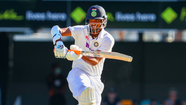 Washington Sundar brought up his maiden fifty followed by a handy 22 on Test debut at the Gabba. AP