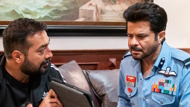 Anurag Kashyap and Anil Kapoor in AK vs AK