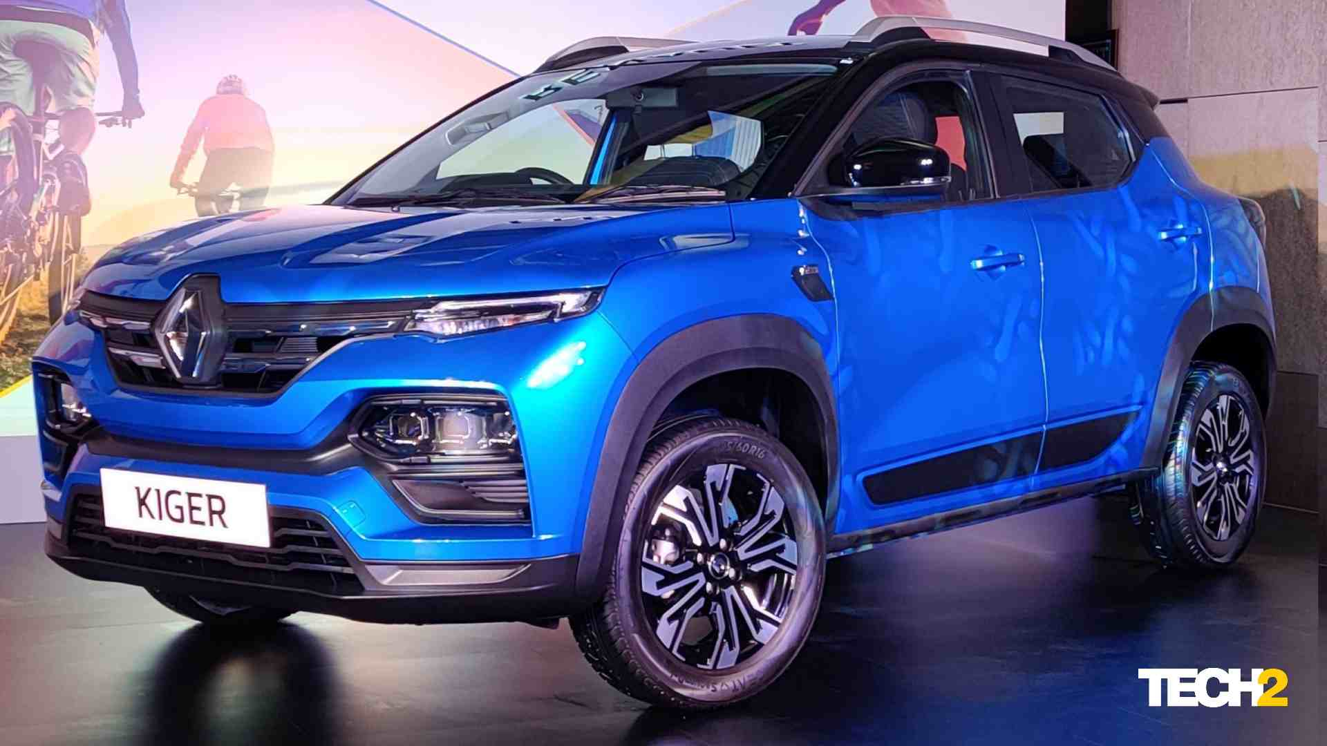 There are a total of four trim levels for the Renault Kiger - RXE, RXL, RXT and RXZ. Image: Tech2 / Amaan Ahmed