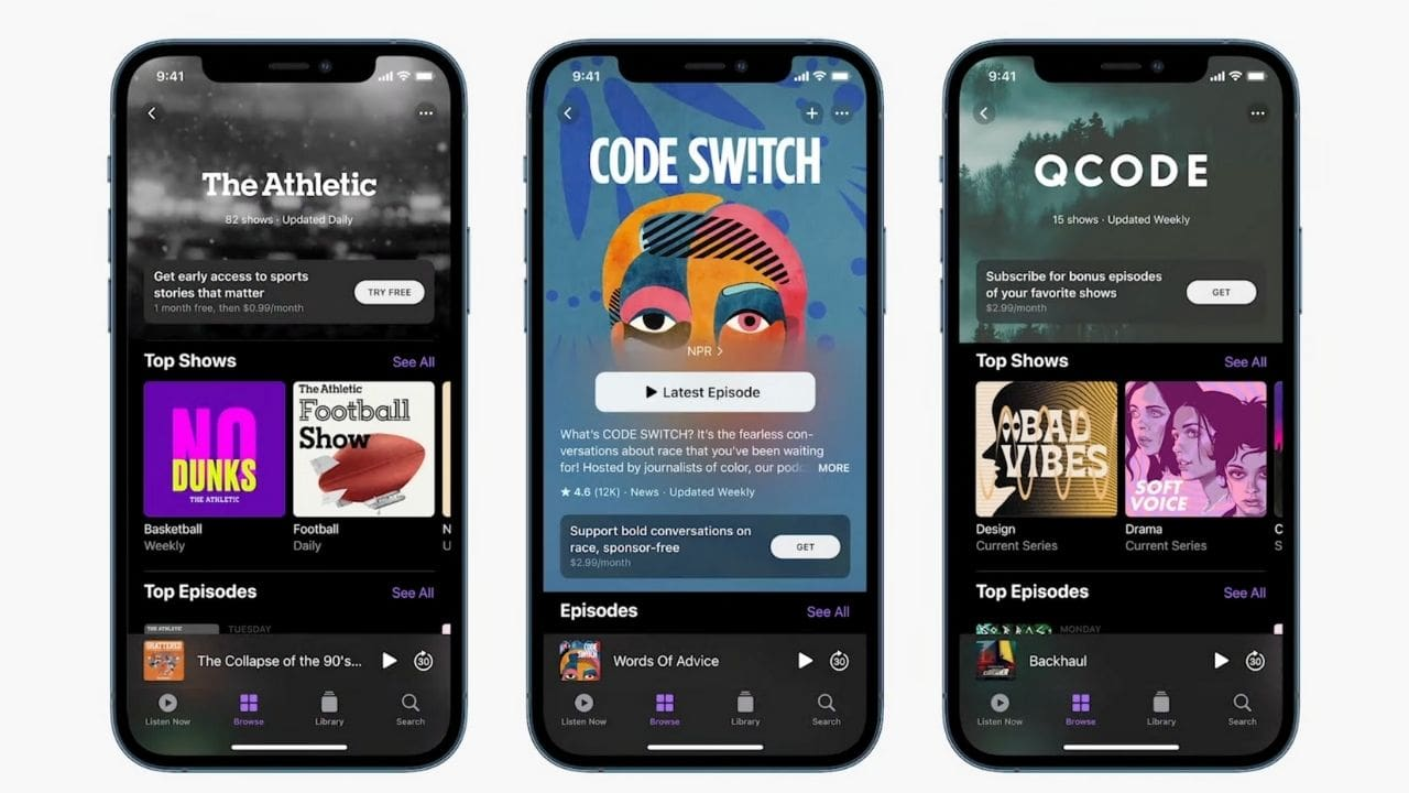Apple Event 2021: Apple Podcast Subscriptions announced ...