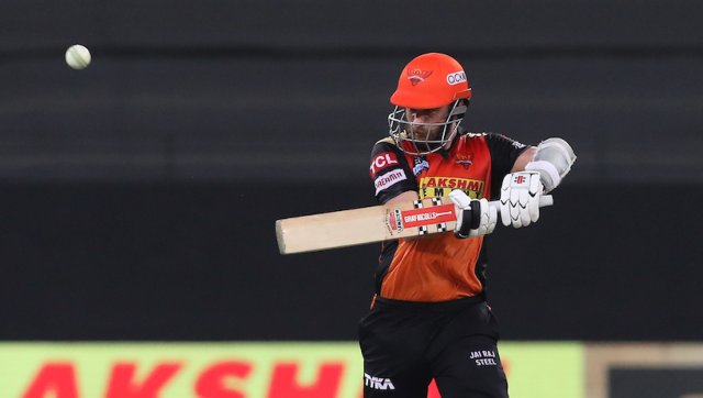 With a strong foundation having been put in place by Saha and Roy, Kane Williamson played a cool and composed knock of 51 to guide his team over the finish line with an over and a half to spare. Photo by Arjun Singh / Sportzpics for IPL